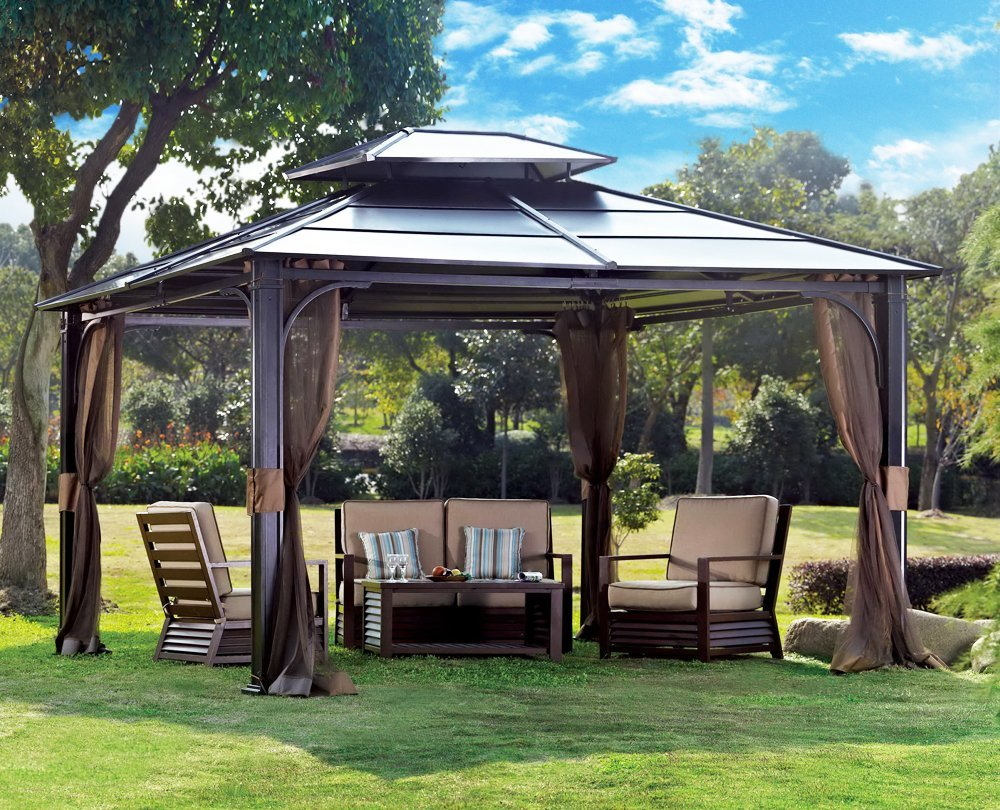 Image of: Aluminum Gazebo for Sale