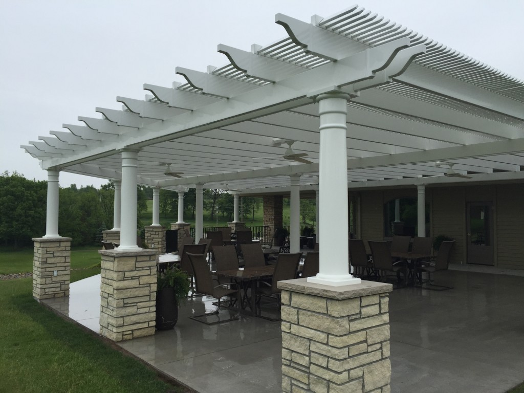 Image of: Aluminum Pergola Kits Design