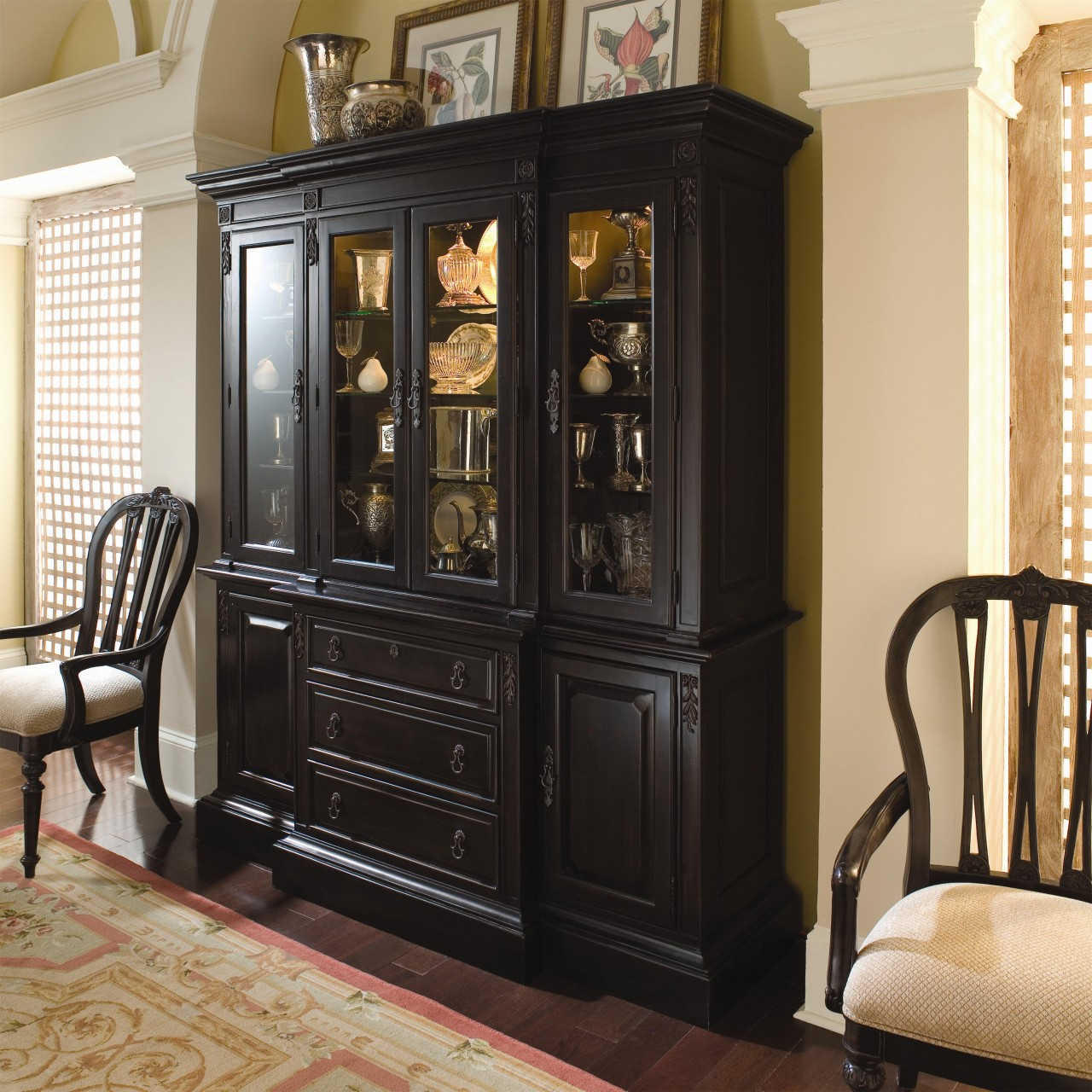 Image of: amazing china cabinets and hutches