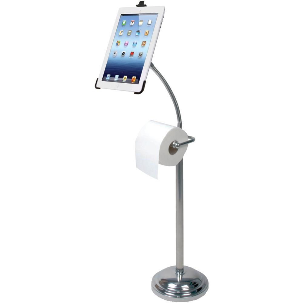 Image of: amazing free standing toilet paper holder