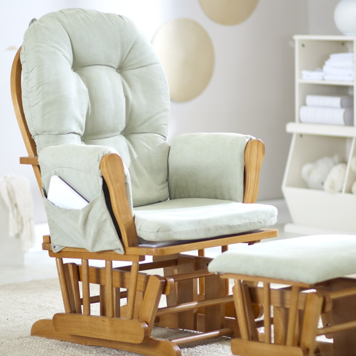 Image of: amazing glider rocking chair
