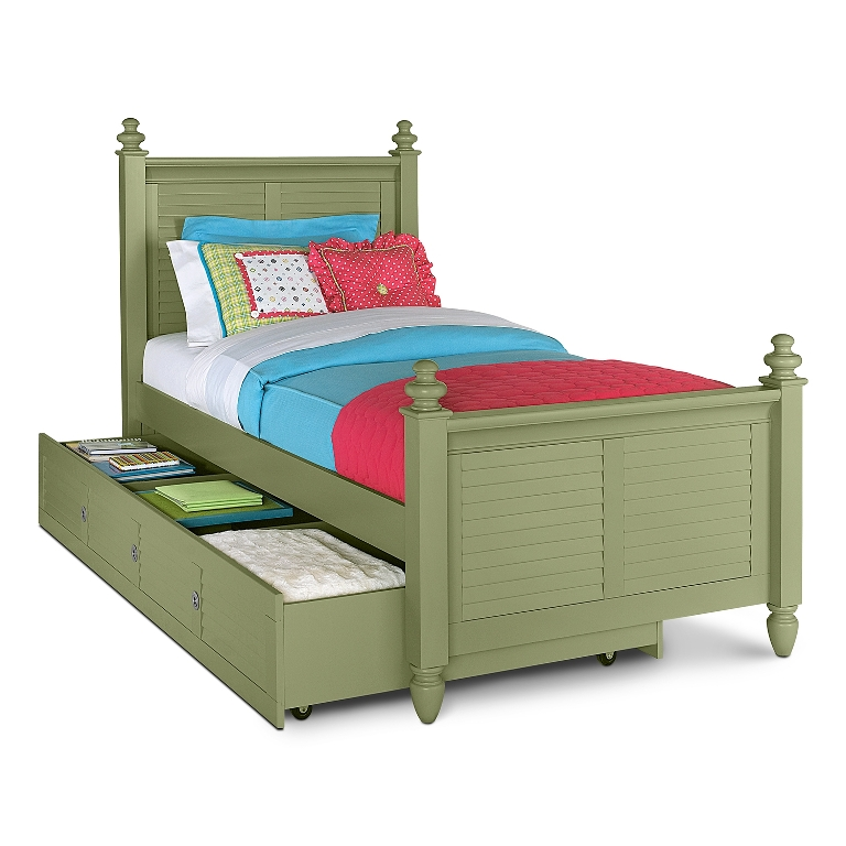 Amazing Kids Bed With Trundle