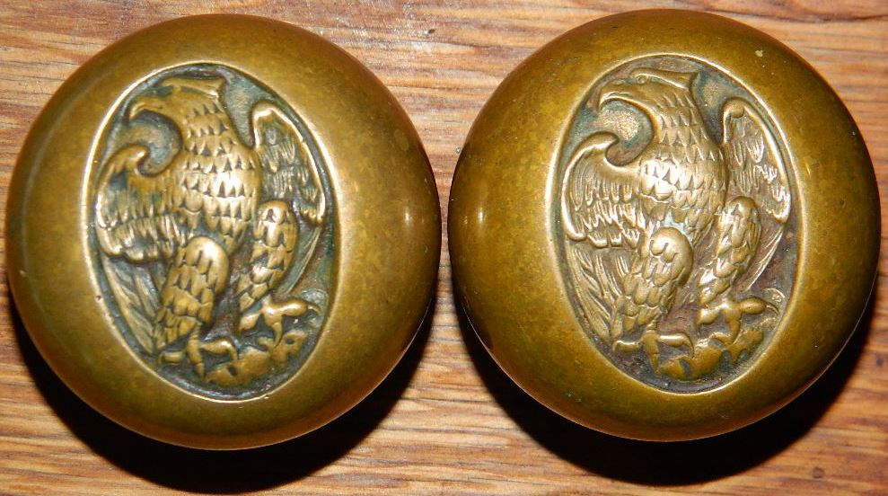 Image of: Antique Bronze Door Knobs