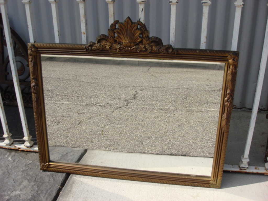 Image of: Antique Wall Mirrors Large