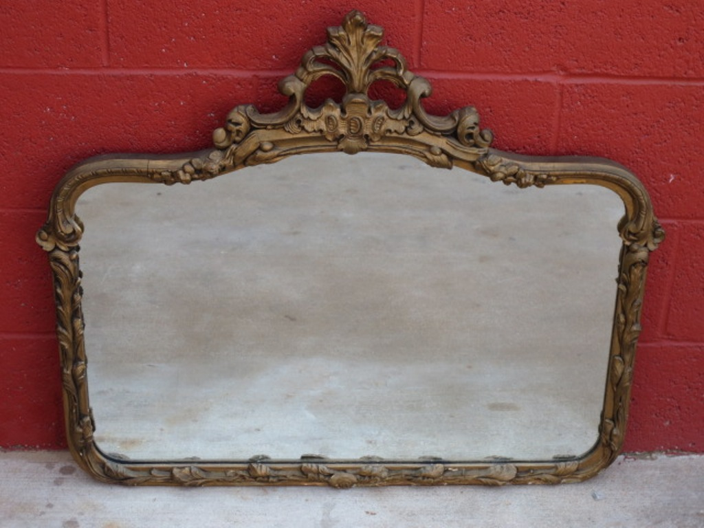 Image of: Antique Wall Mirrors Sets