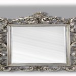 Antique Wall Mirrors Silver
