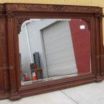 Antique Wall Mirrors with Shelf