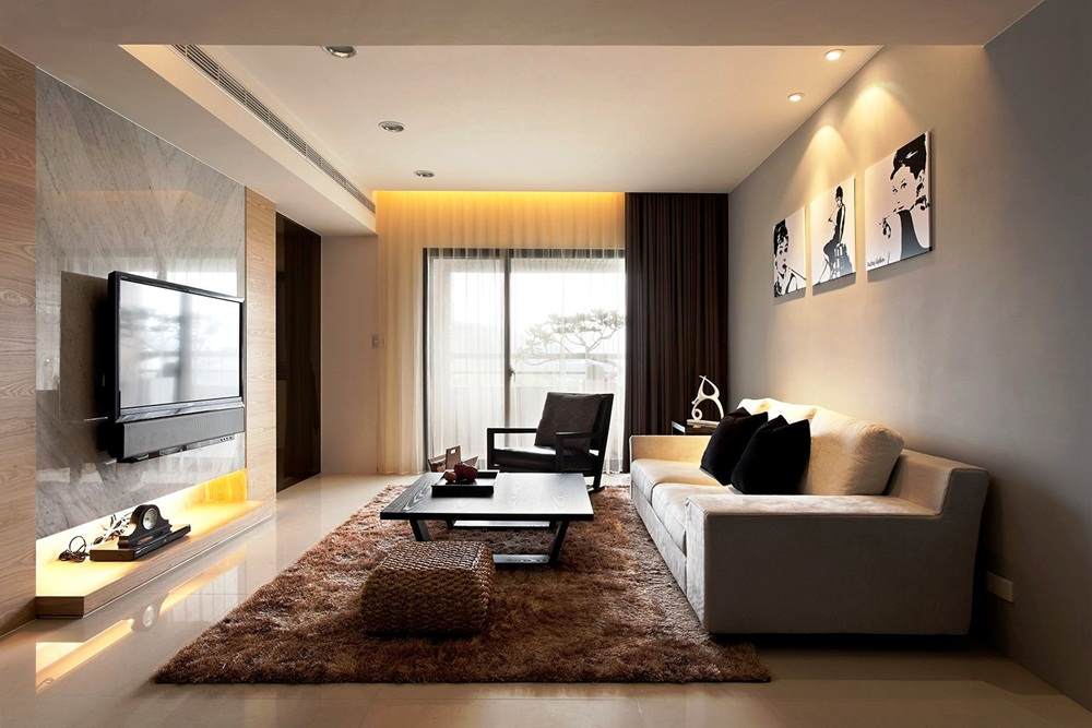Image of: cute apartment living room ideas