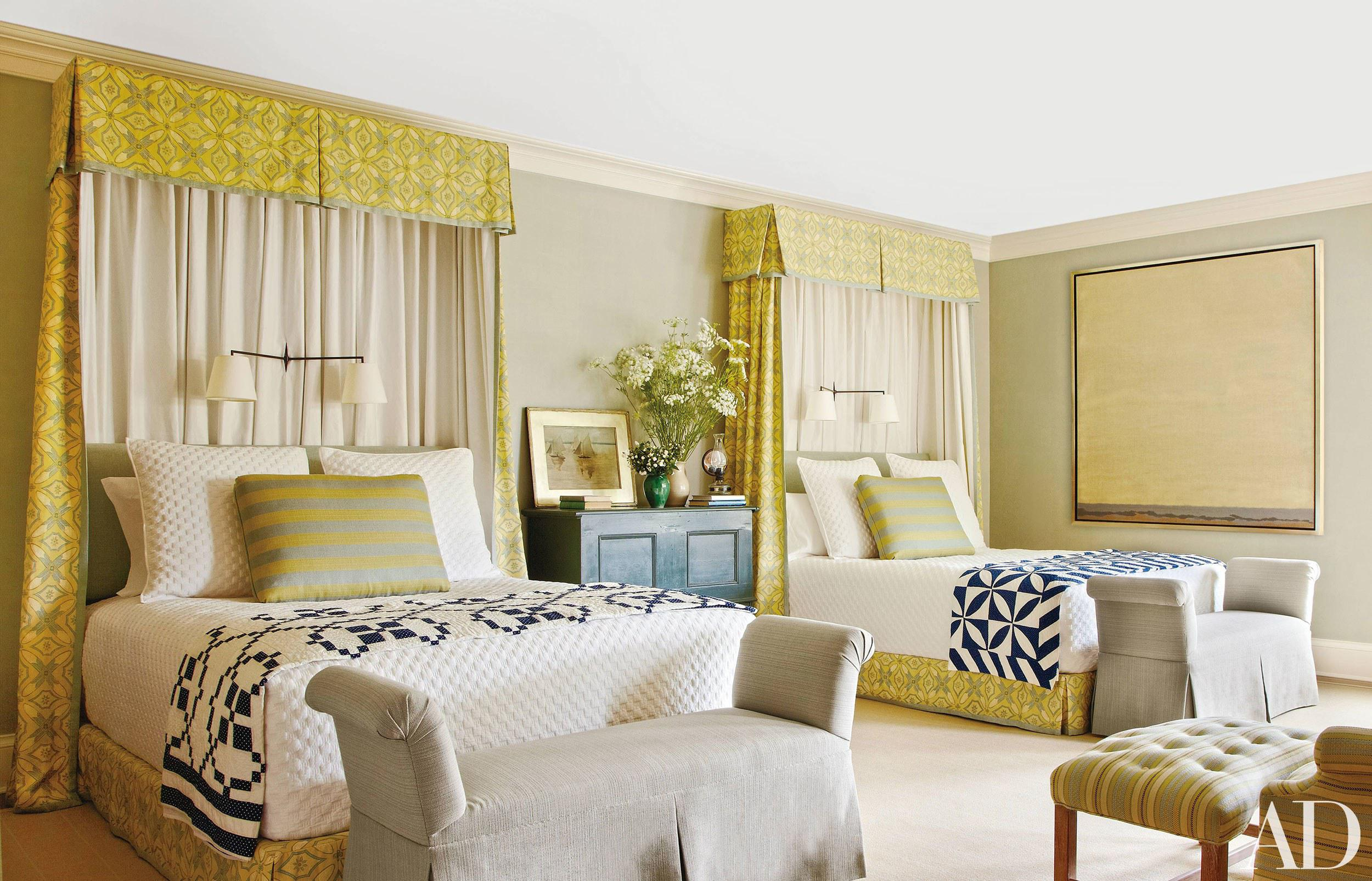 Image of: Appealing Twin Bed Guest Room Ideas