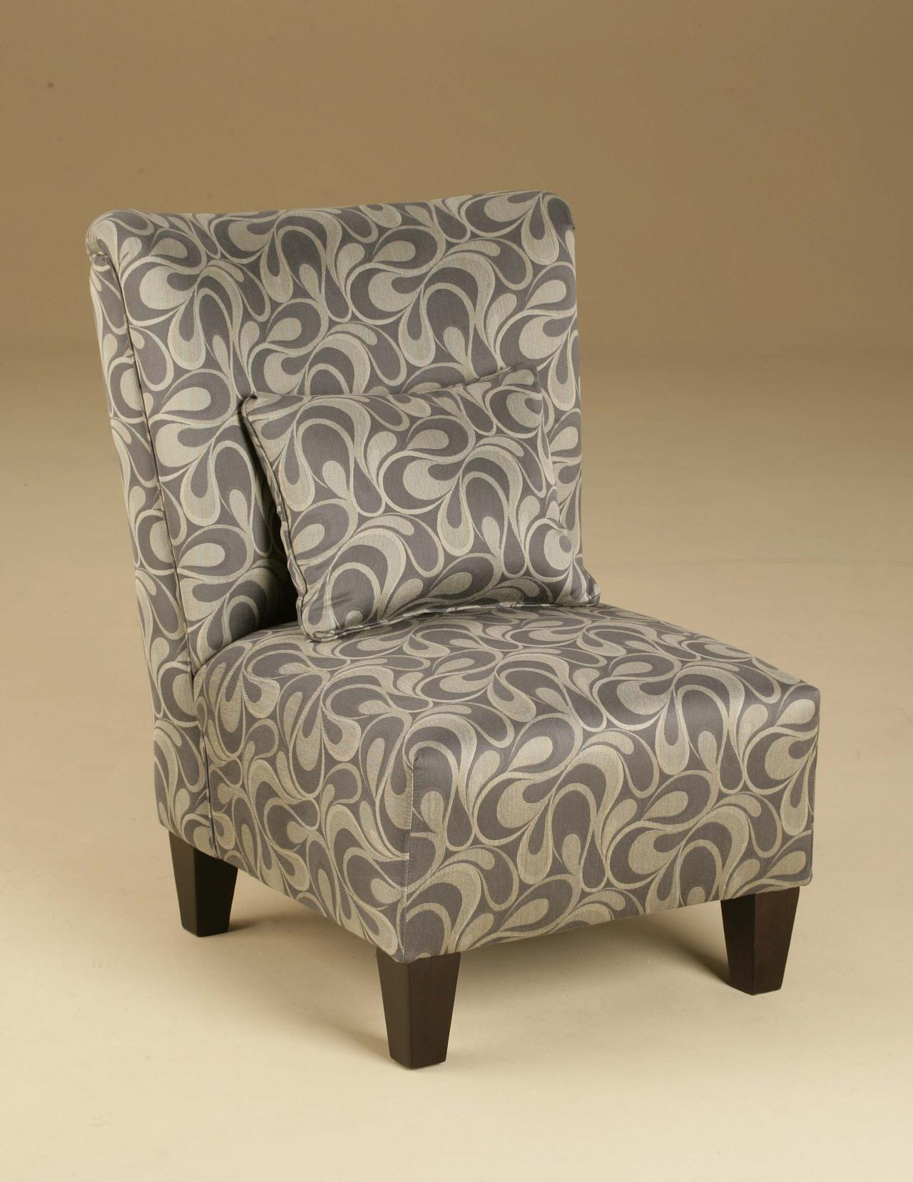Image of: armless accent chairs large