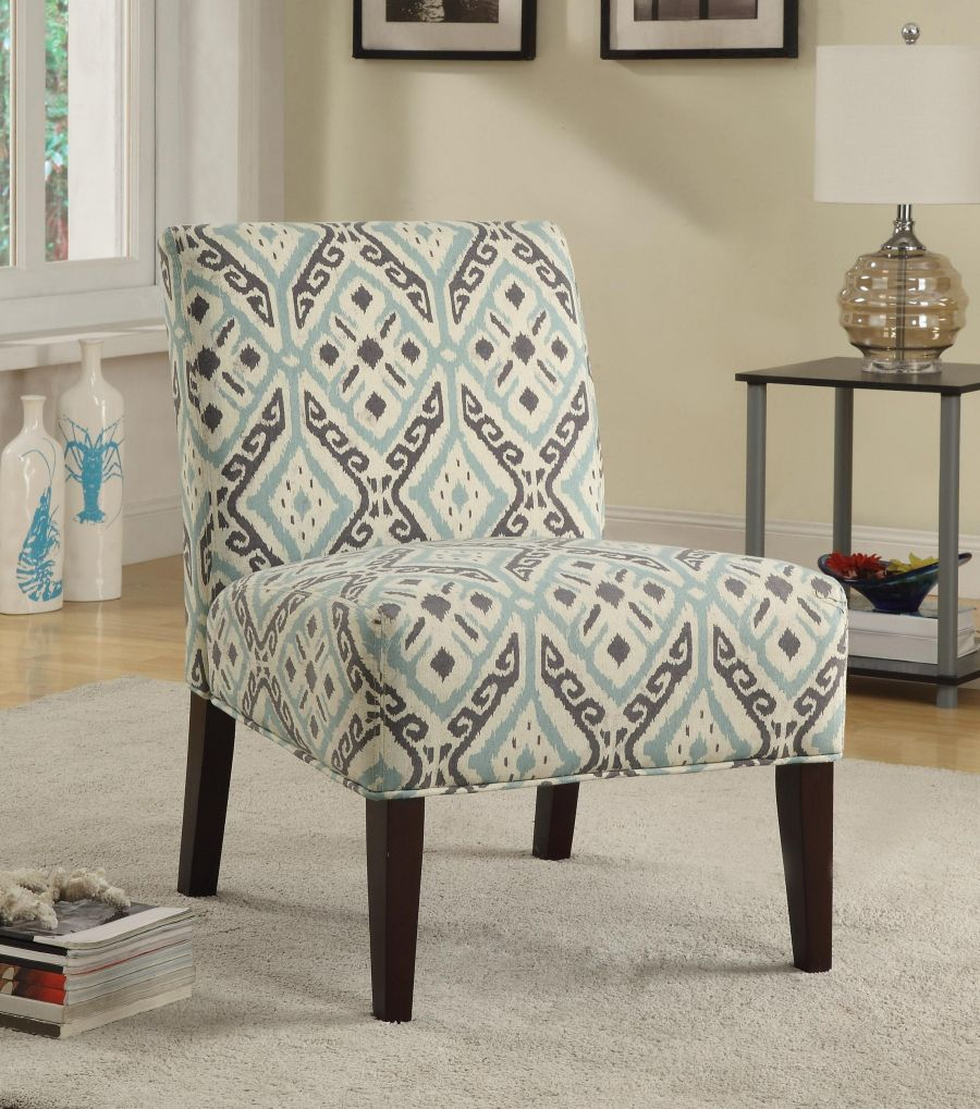 Image of: armless accent chairs living room