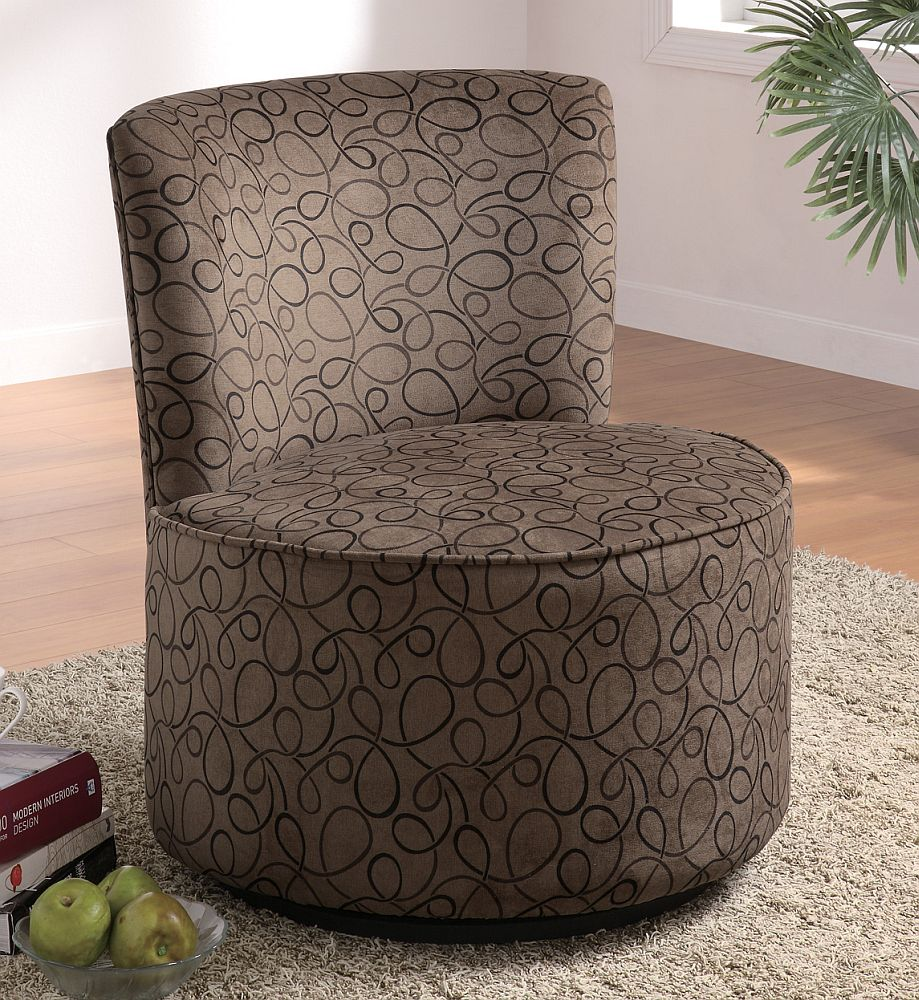 Image of: armless accent chairs under
