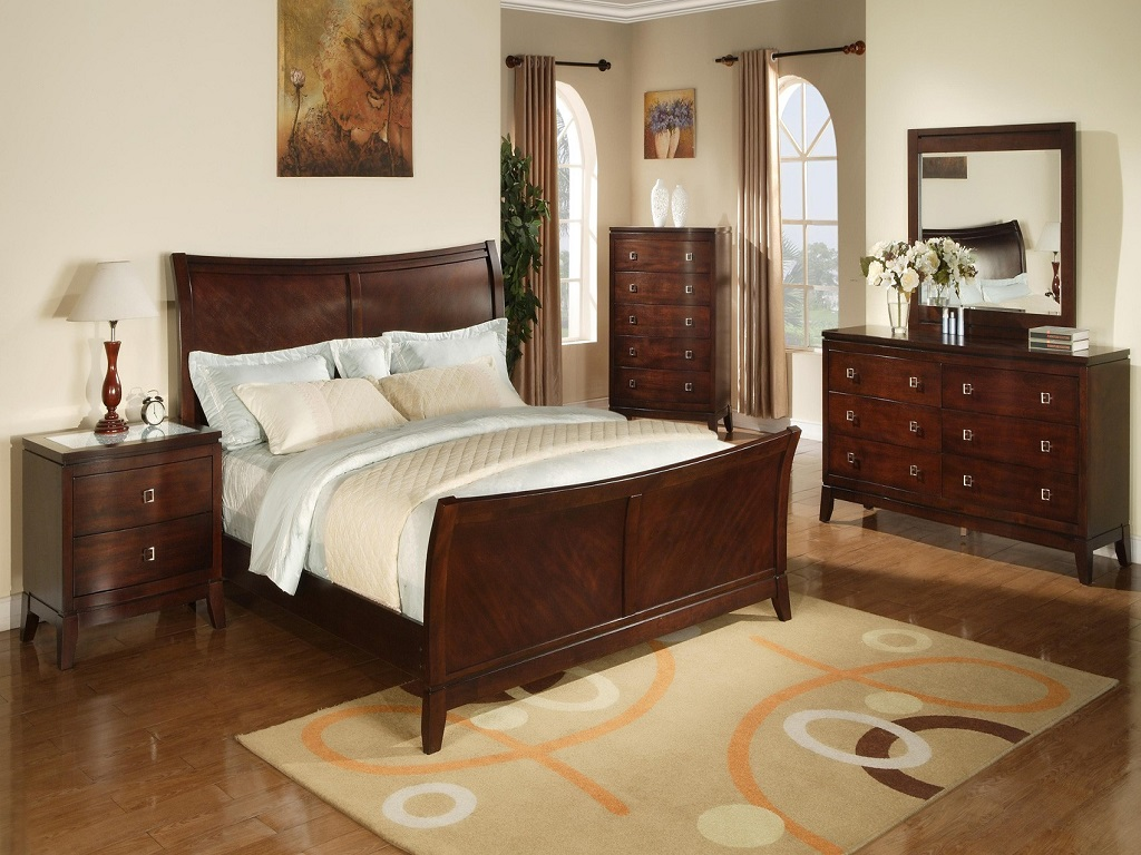 Image of: Ashley Furniture Coal Creek Mansion Bedroom Set Price