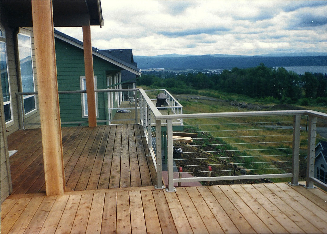 Attach Steel Deck Railing