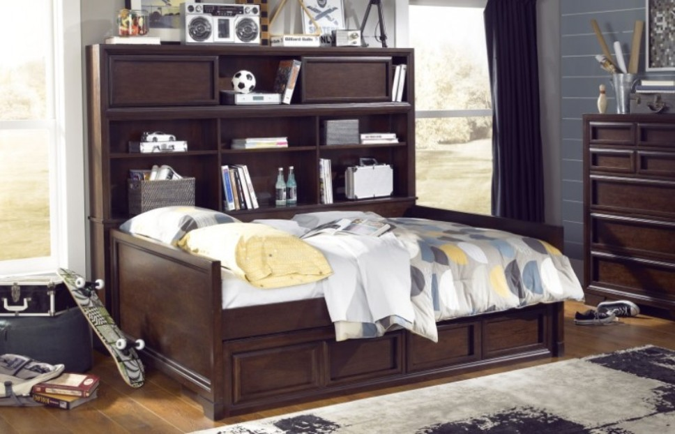 Image of: Ava bookcase daybed