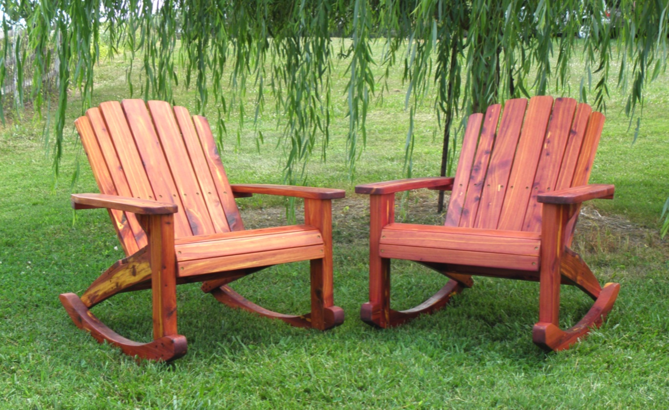 Image of: awesome adirondack rocking chair