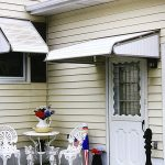 Awesome Aluminum Door Awnings