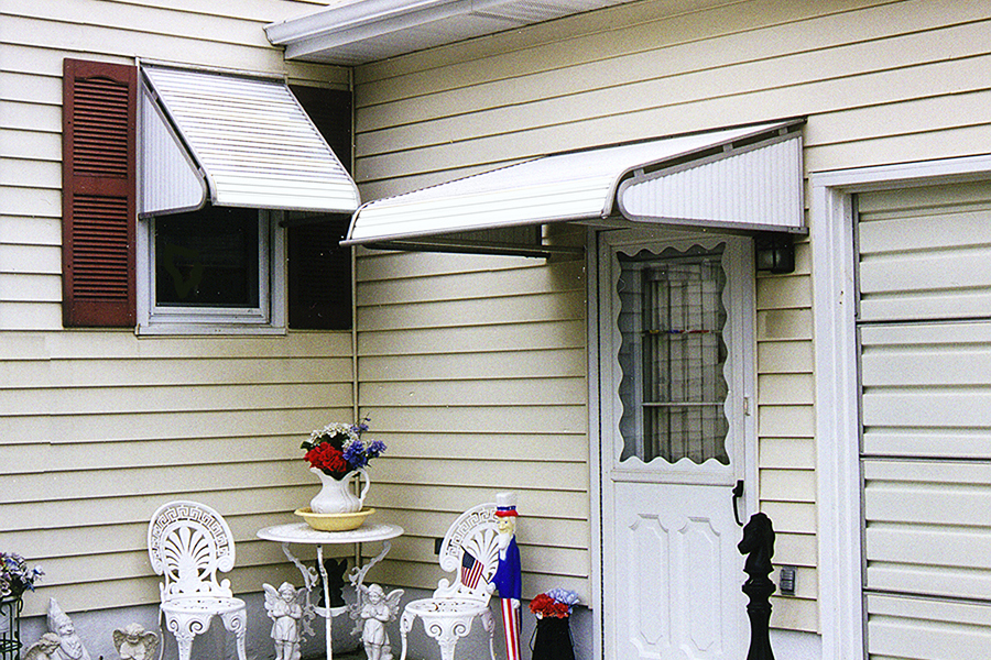 Image of: Awesome Aluminum Door Awnings