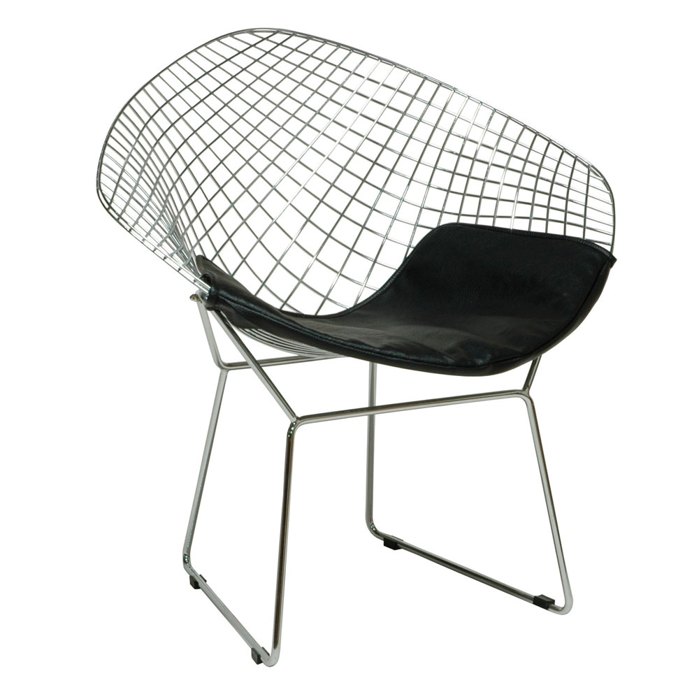 Image of: Awesome Bertoia Diamond Chair Design