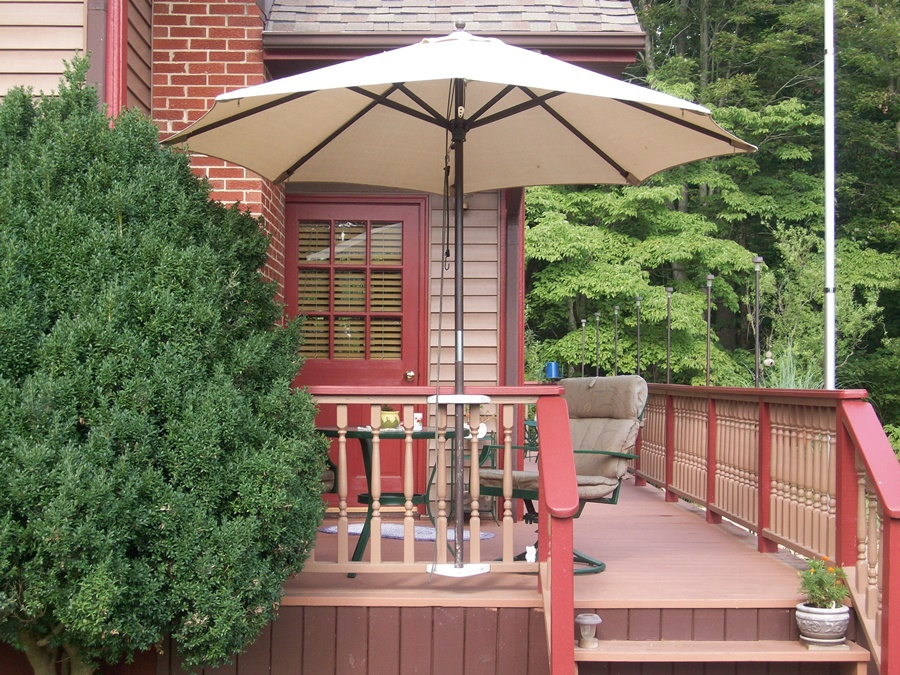 Awesome Deck Umbrella Mount