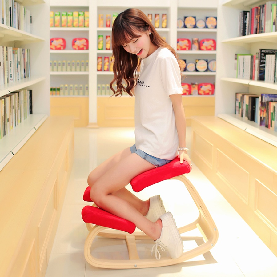 Image of: awesome ergonomic kneeling chair