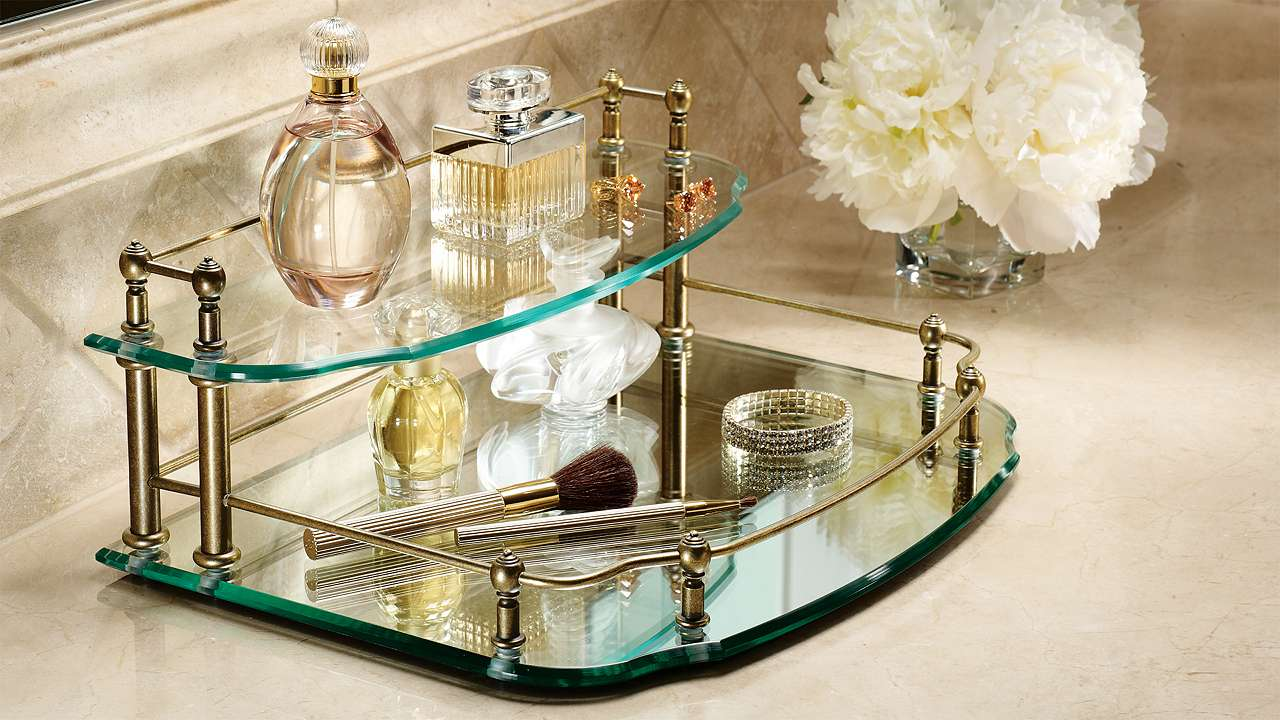 Awesome Mirrored Vanity Tray