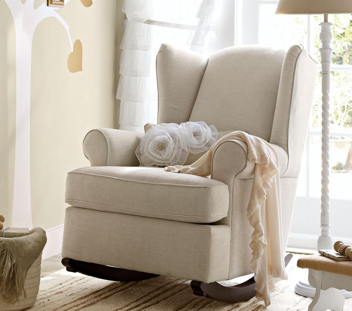 Image of: awesome nursery glider chair