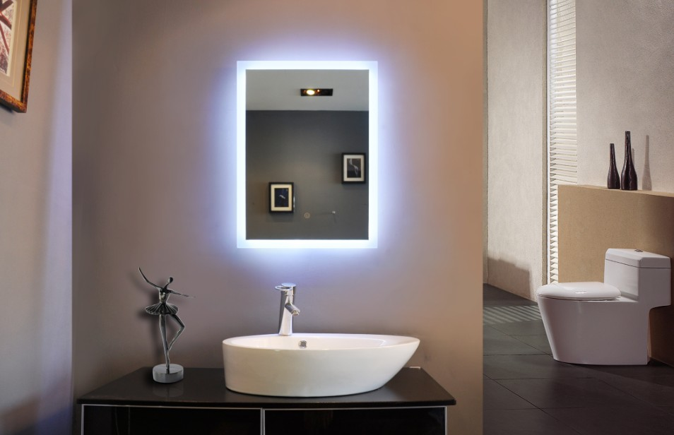 Bathroom Mirror with Lights Colors