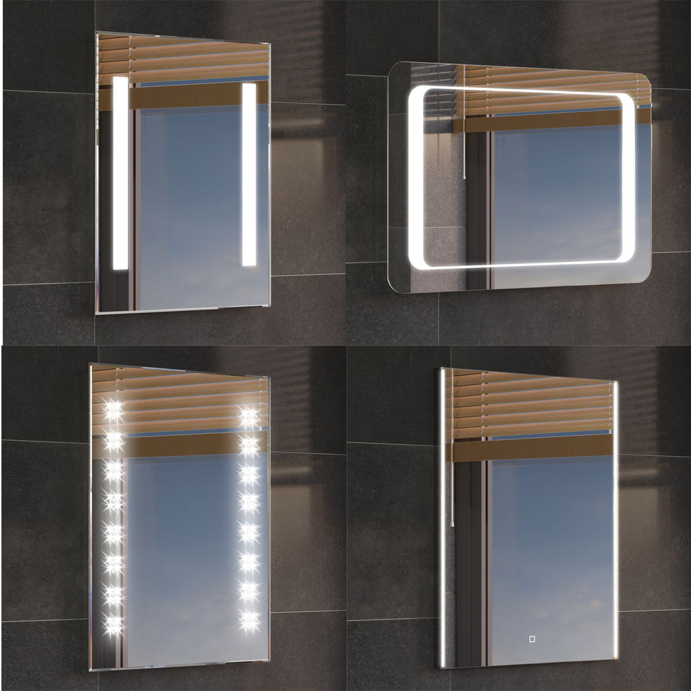 Image of: Bathroom Mirror with Lights Led