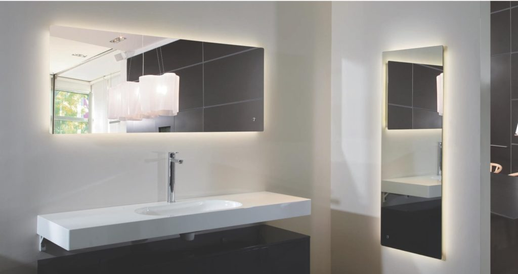 Image of: Bathroom Mirror with Lights Style