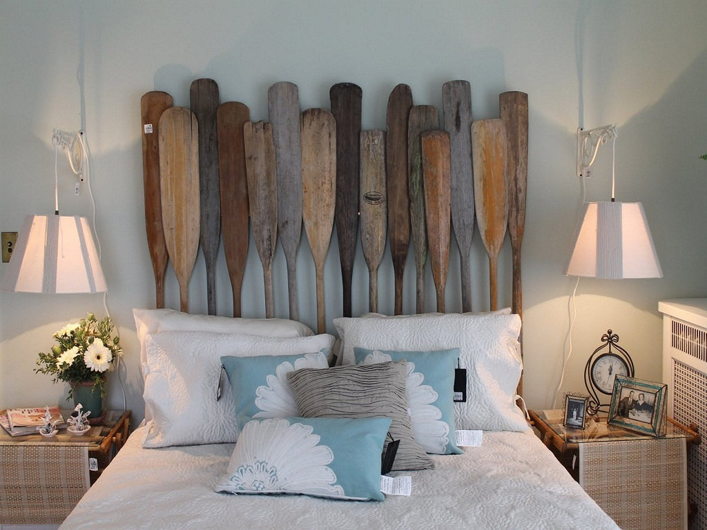 Image of: Beach Themed Bedroom Accessories