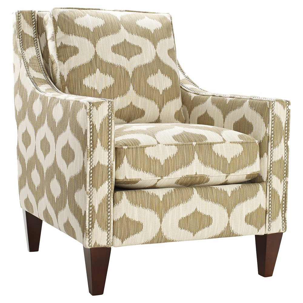 Image of: Beautiful Floral Accent Chair