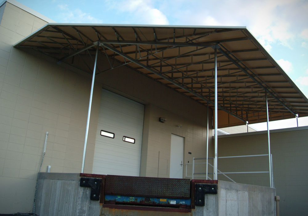Image of: Beautiful Industrial Awnings