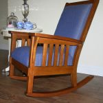 Beautiful Mission Style Rocking Chair
