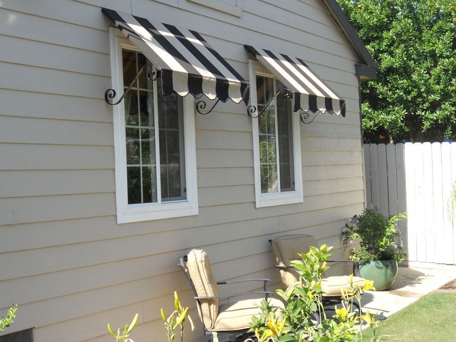 Image of: Beautiful Outdoor Window Awnings