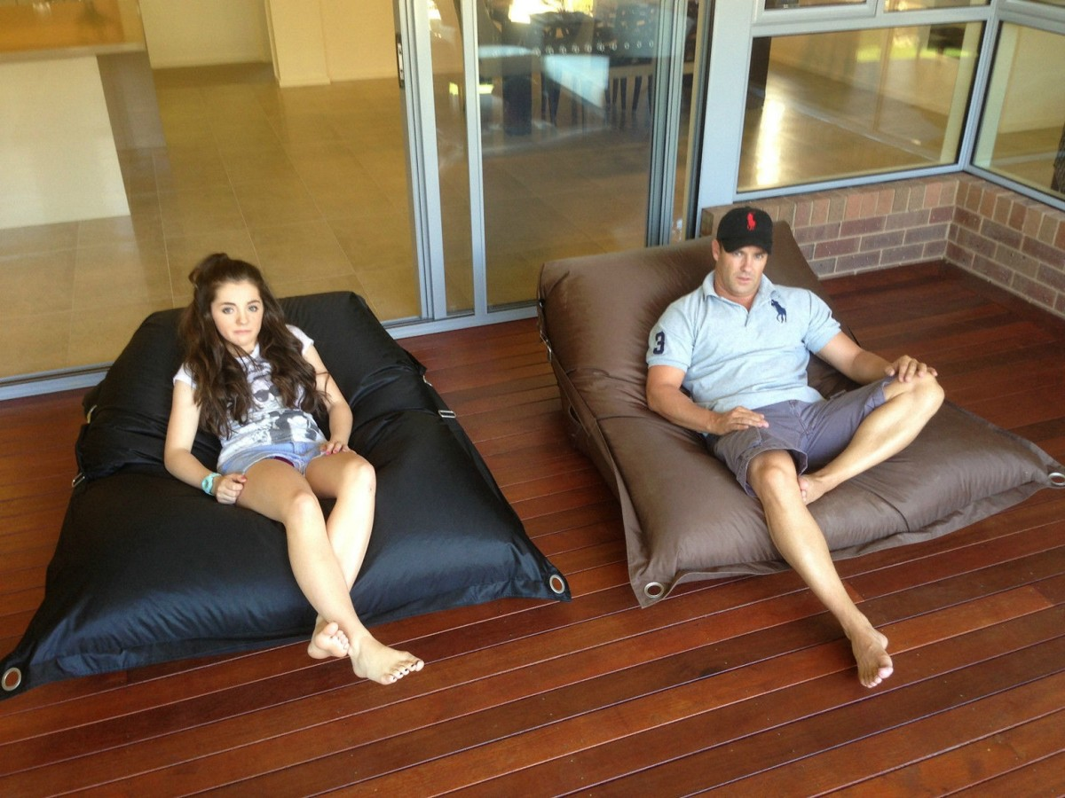 Image of: beautiful oversized bean bag chairs