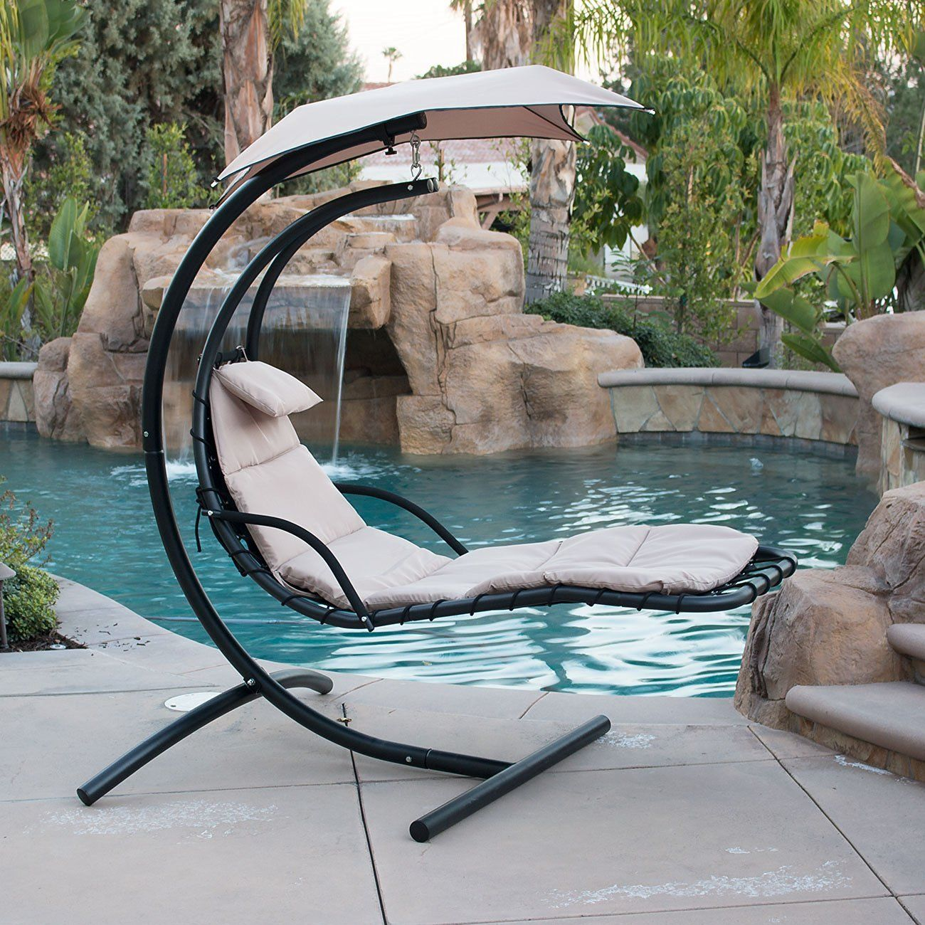 Image of: beautiful patio swing chair