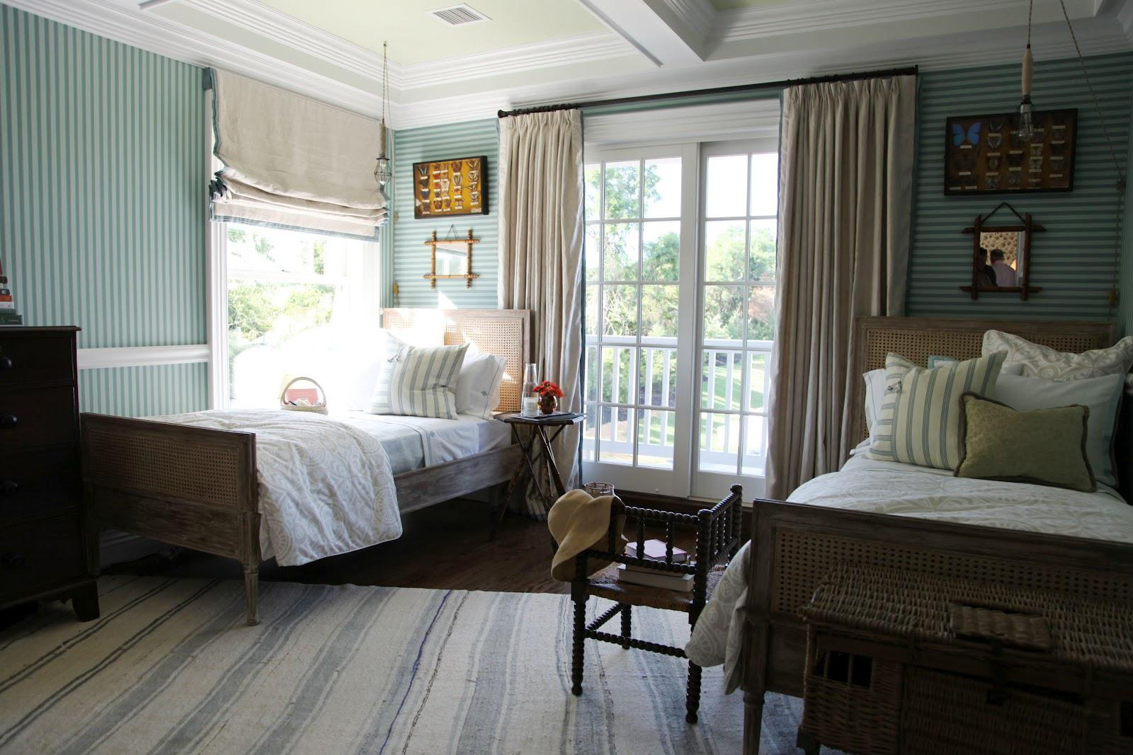 Image of: Beautiful Twin Bed Guest Room Ideas