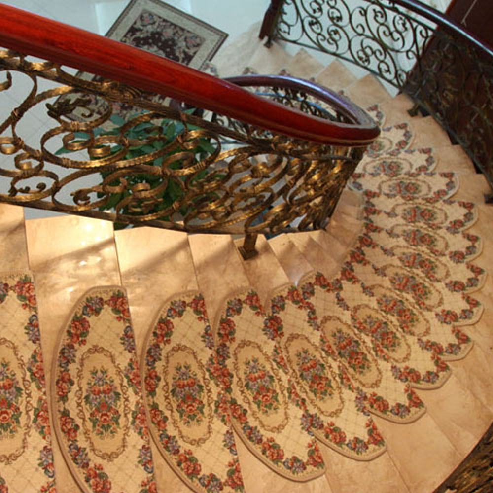 Image of: beauty carpet stair treads