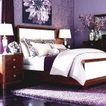 Beauty Decorating With Purple Bedroom
