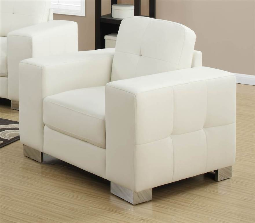 Image of: Beauty Ivory Accent Chairs