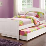 Beauty Kids Bed With Trundle