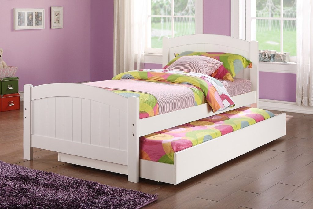 Image of: Beauty Kids Bed With Trundle