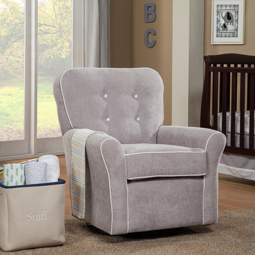 Image of: beauty swivel glider chair