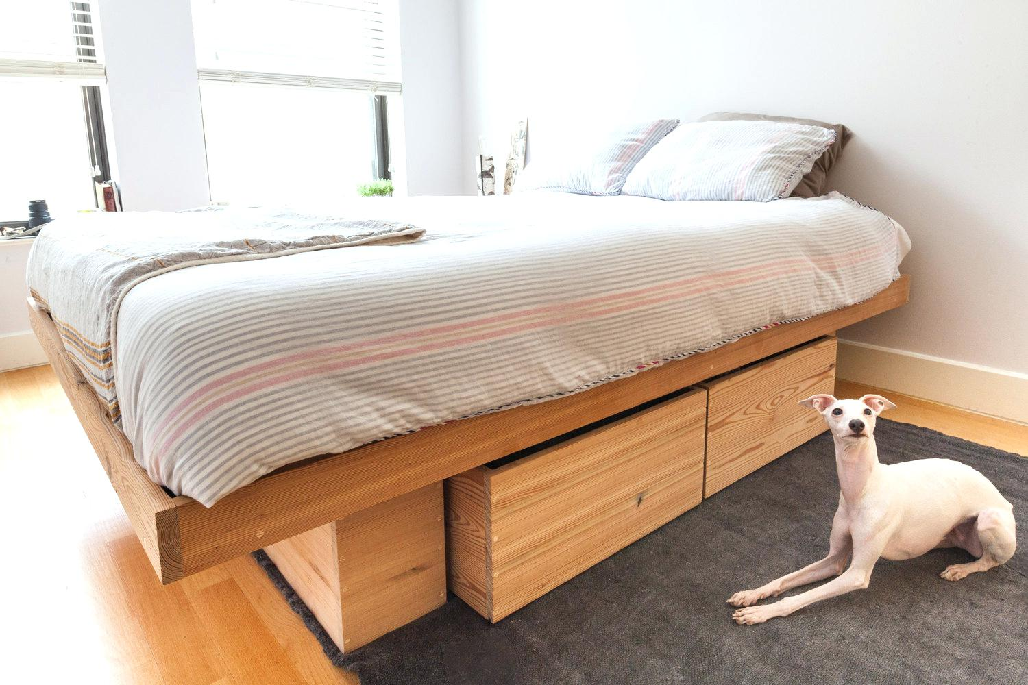 Bed Frame And Storage