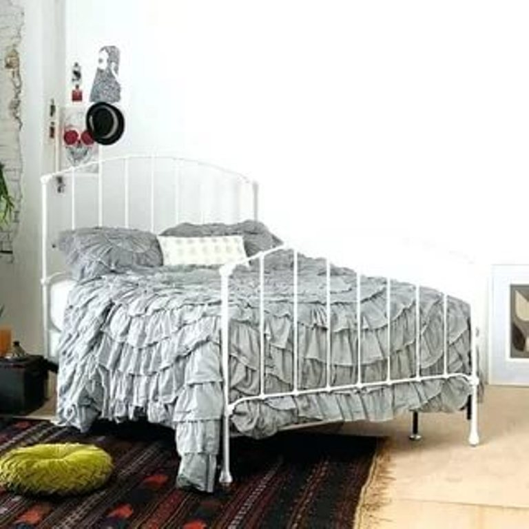 Image of: Bed Frame Headboard Assembly