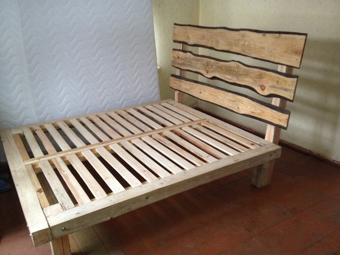 Image of: Bed Frame Plans Box Spring