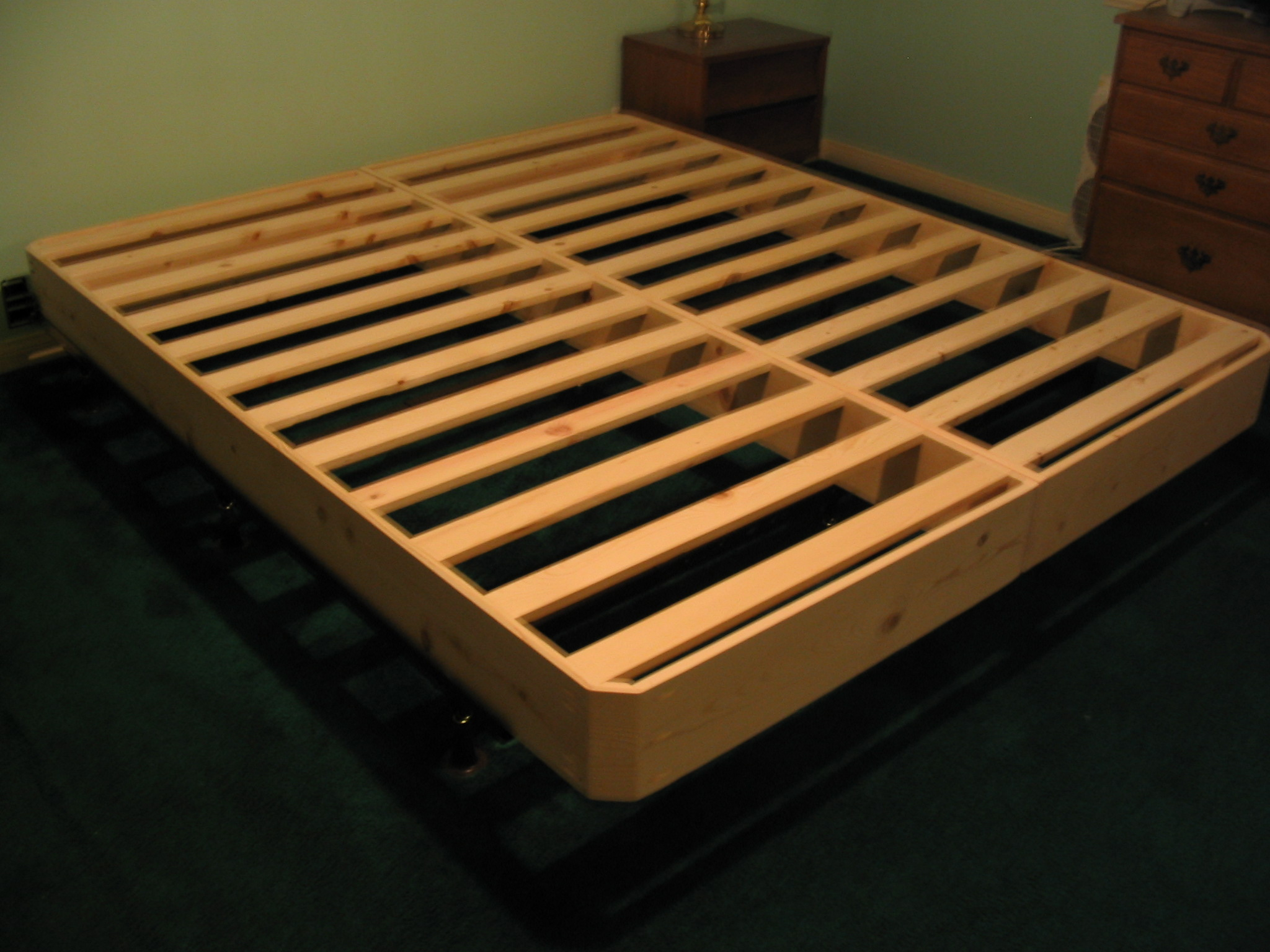 Image of: Bed Frame Plans Twin