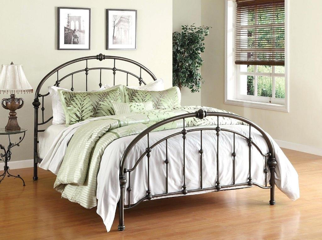 Image of: Bed Frame Without A Headboard