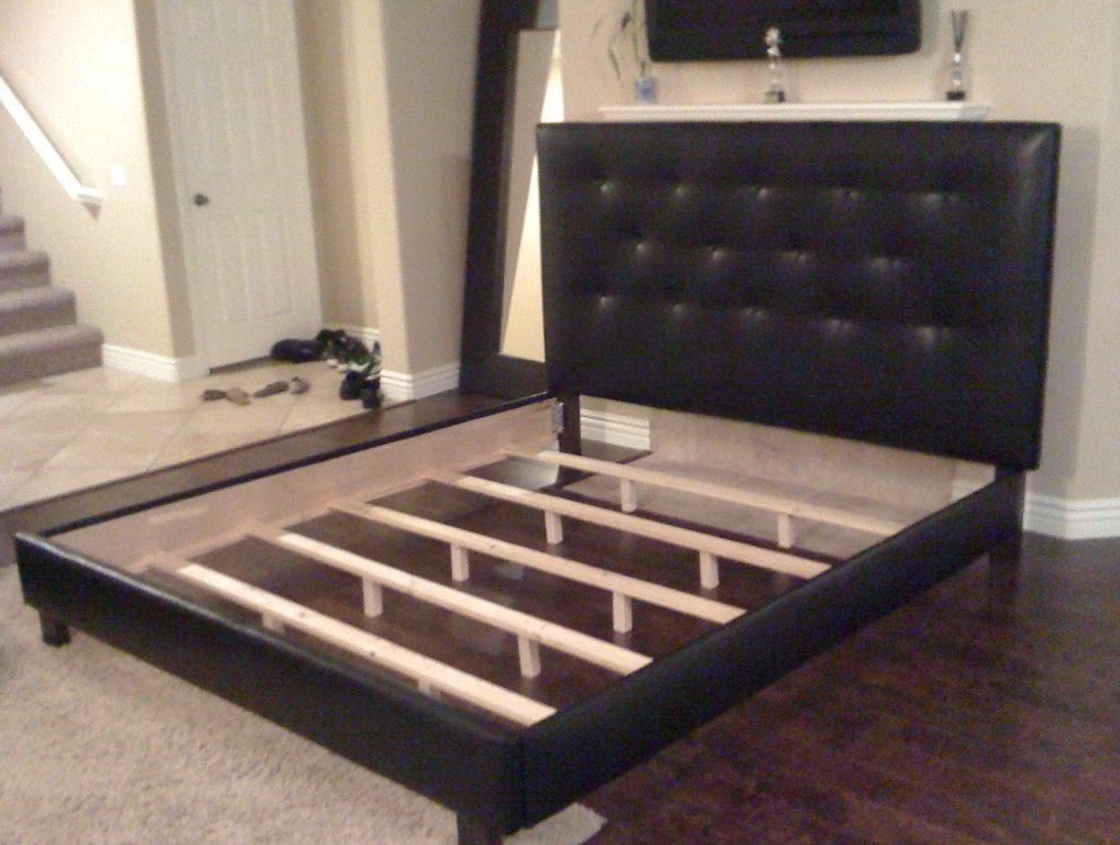tufted headboard and frame